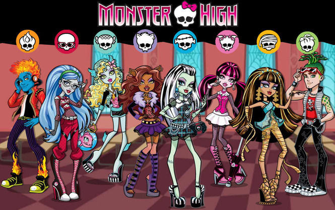 Купить Monster high Школа монстров